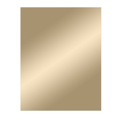 Gold Tinted Frameless Wall Mirror 22