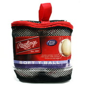 Rawlings Baseball 6U Six-Pack of League Tee Balls TVBBT6