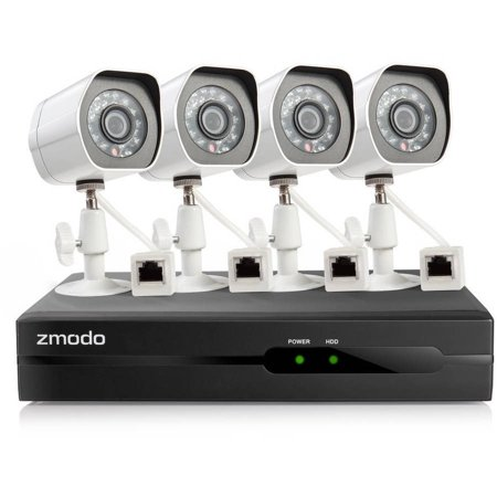 Zmodo 4-Channel 1080p Full HD sPoE NVR Security System with 2TB Hard Drive