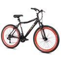 "Kent 26"" Men's KZR Mountain Bike (Black/Red)"