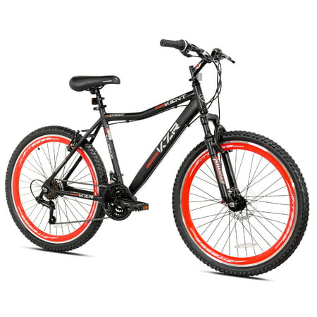 "Kent 26"" Men's, KZR Mountain Bike, Black/Red"