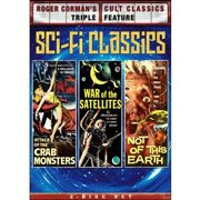 Roger Corman's Cult Classics Triple Feature: Sci Fi Classics Attack Of The Crab Monsters   War Of The Satellites   Not... by SHOUT FACTORY