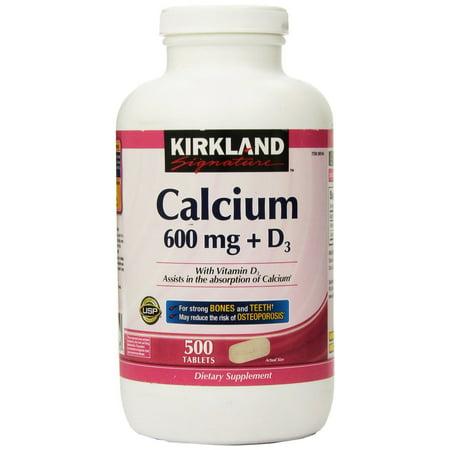 Kirkland Signature Calcium  500 Count Tablets