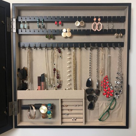 Hives & Honey Black Collage Jewelry Storage and Organization Photo Frame - Jewelry Frame