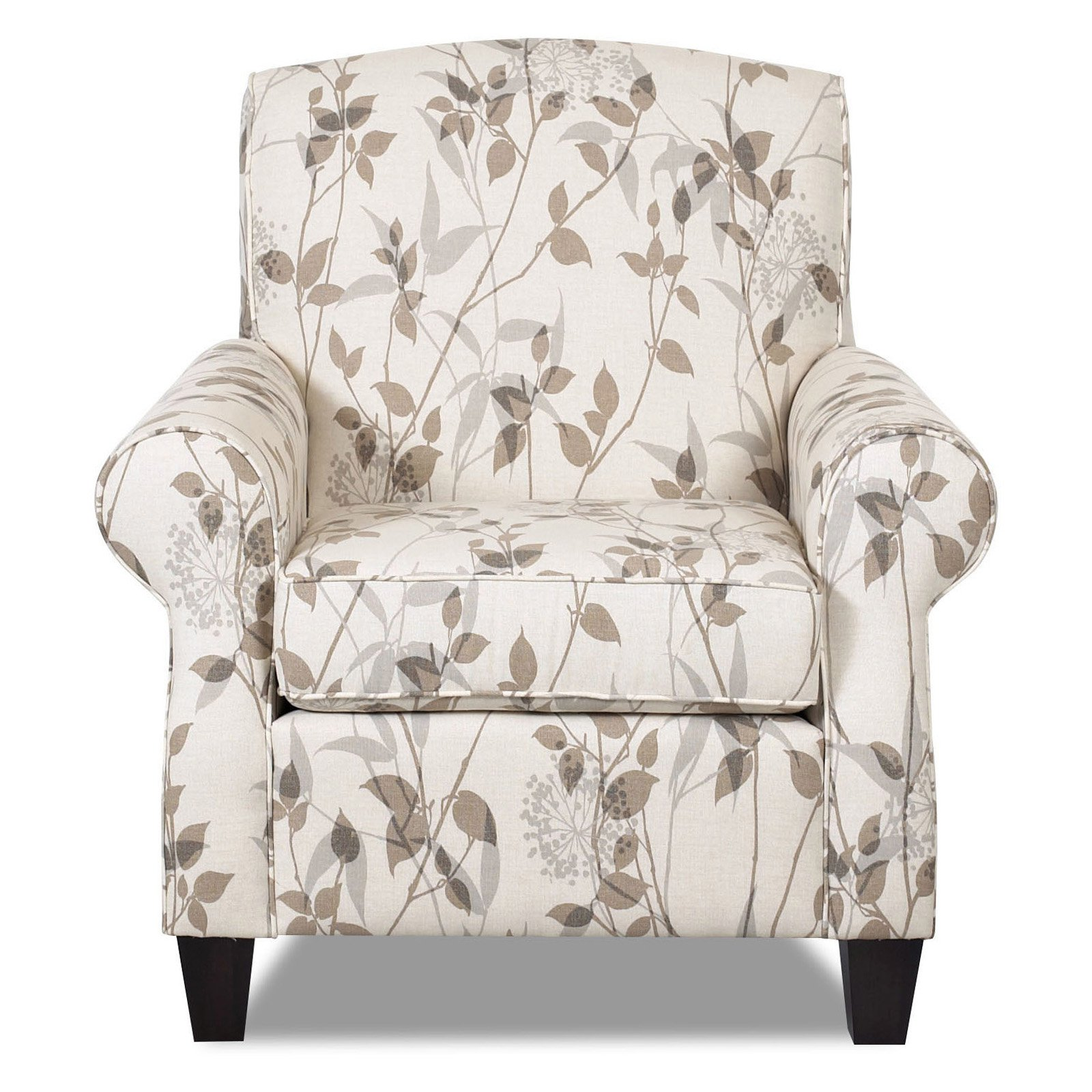 Klaussner Marie Floral Club Chair