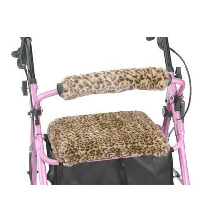 NOVA Medical Products Seat & Back Cover for Rolling Walker, Safari Cheetah