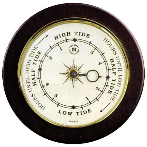 Kepler Tide 9 in. Wall Clock