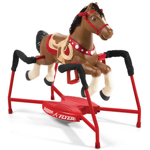 Radio Flyer Blaze Interactive Spring Horse Ride-On