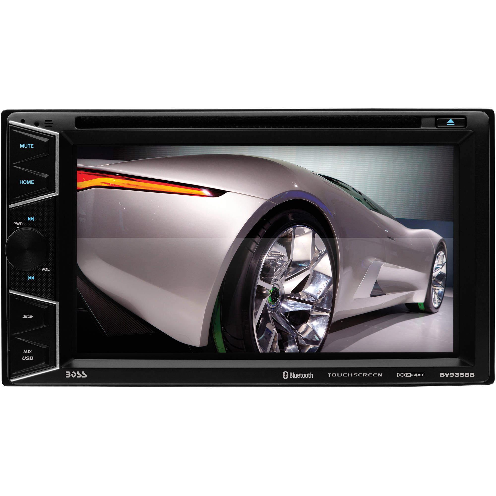 "Boss Audio BV9358B Double-DIN DVD 6.2"" Touchscreen Player, Bluetooth"
