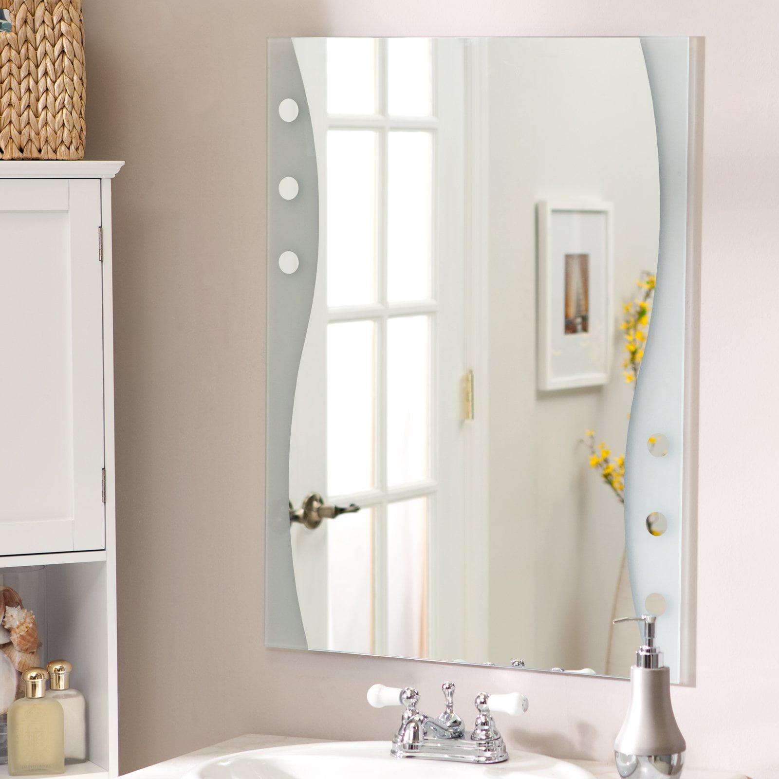 Décor Wonderland Frameless Maritime Wall Mirror - 23.5W x 31.5H in.