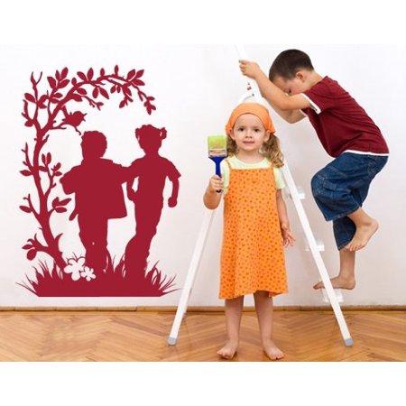 Frolicking Kids Wall Decal Wall Sticker Vinyl Wall Art Home Decor Wall