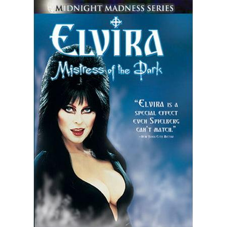 Elvira, Mistress Of The Dark (DVD) - Elvira Makeup