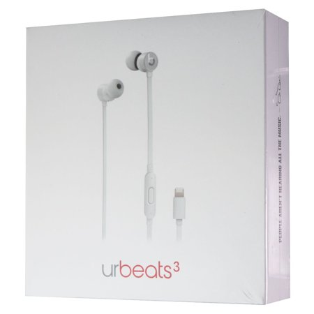 urBeats3 Wired Earphones with Lightning Connector - Silver