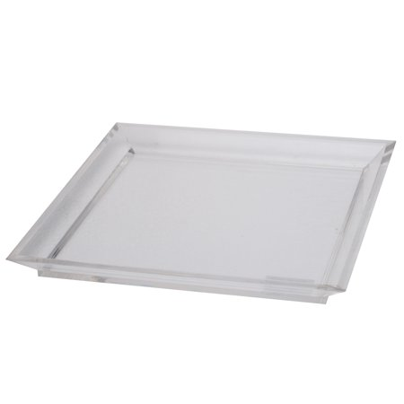 A Home Acrylic Westby Square Tray  Large