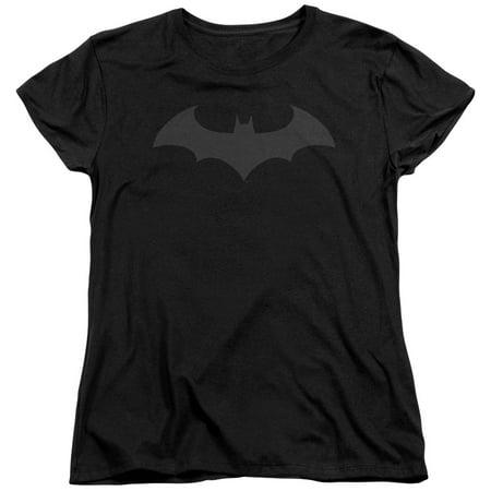 Batman Hush Logo Womens Short Sleeve Shirt