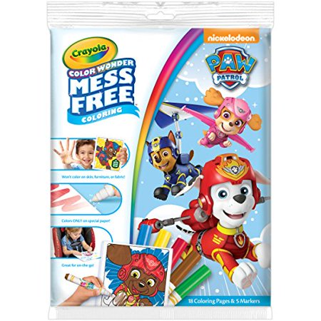 Crayola Paw Patrol Color Wonder Coloring Pad & Markers, Mess Free, Ages 3,4,5 - image 3 of 3