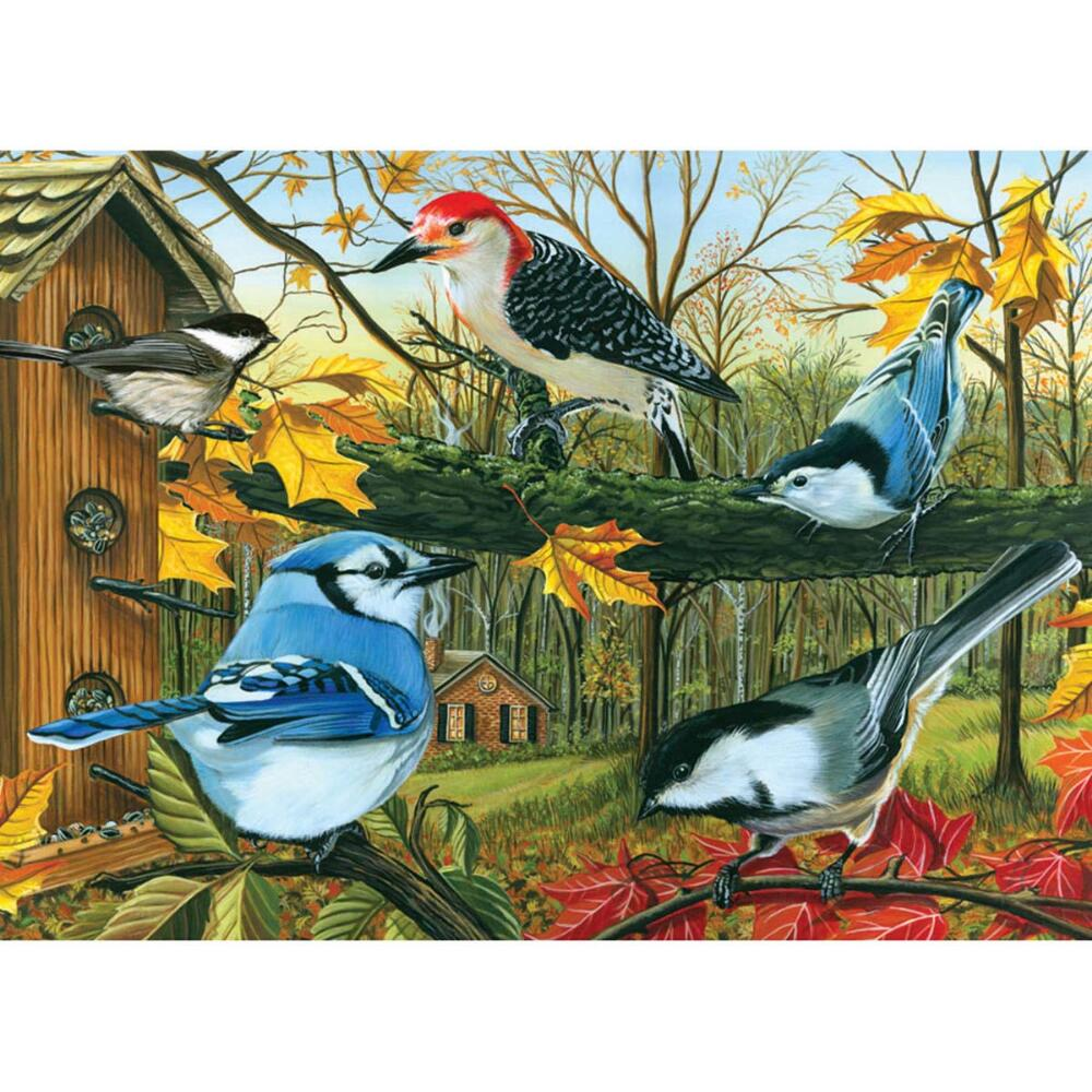 Outset Media Blue Jay and Friends Jigsaw Puzzle