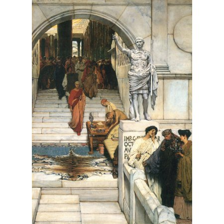Framed Art for Your Wall Alma -Tadema, Sir Lawrence - An Audience with Agrippa 10 x 13 (Lawrence Outdoor Wall)
