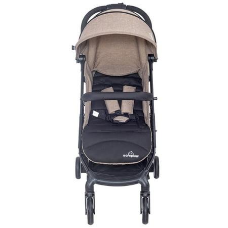safeplus lightweight foldable baby kids travel stroller pushchair buggy