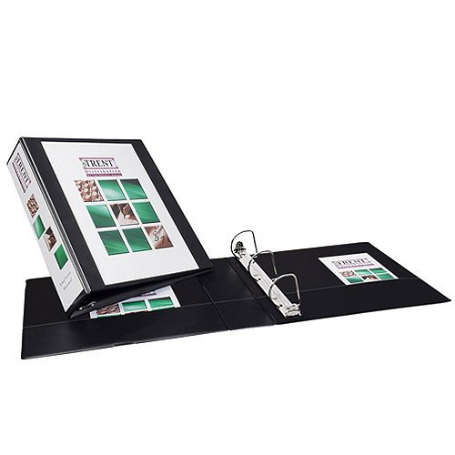 "Avery 2"" Durable View Binder with EZ-Turn Ring, Black"