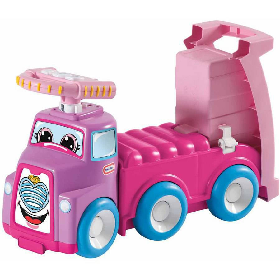 Little Tikes 3-in-1 Easy Rider Truck Ride-On, Pink