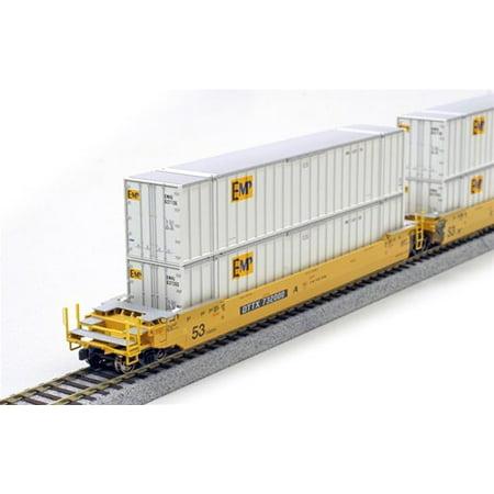 Kato 309022 HO 53 Container EMP (2) Multi-Colored (Kato Sd40 2)