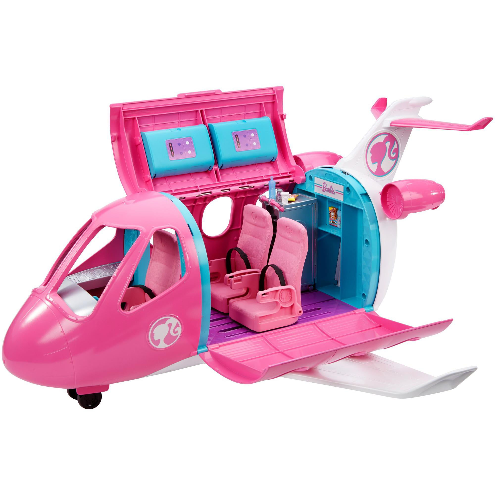 Barbie Estate Dreamplane Playset with 15+ Themed Accessories