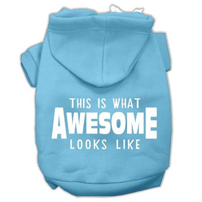 This Is What Awesome Looks Like Dog Pet Hoodies Baby Blue Size Lg (14) - image 1 de 1