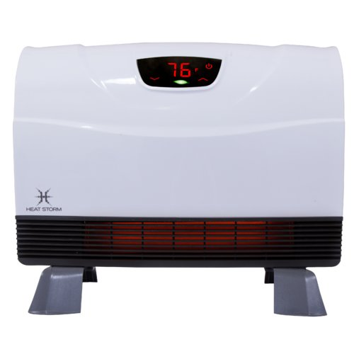Heat Storm Phoenix 1,500 Watt Electric Infrared Wall-Mounted Heater