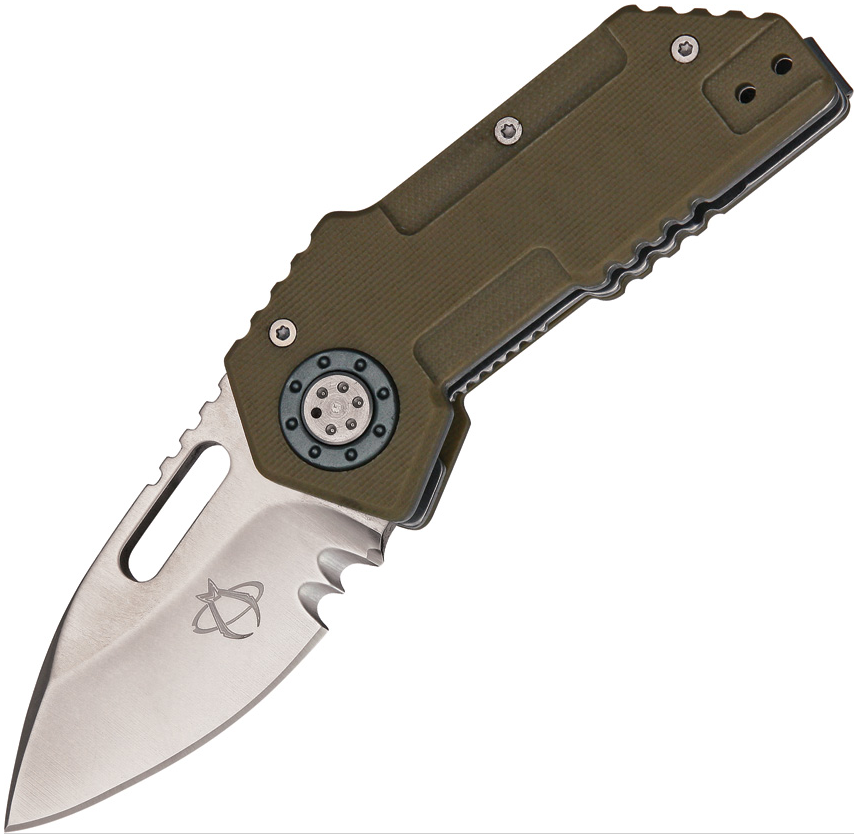 Mantis Knives MT-9C Tough Tony Black G-10 Handle Plain