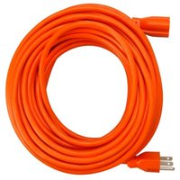 02309ME 100 ft. Orange Round Vinyl Extension Cord