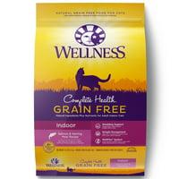 Wellness Complete Health Natural Grain Free Dry Cat Food, Indoor Salmon & Herring Recipe, 11.5-Pound Bag