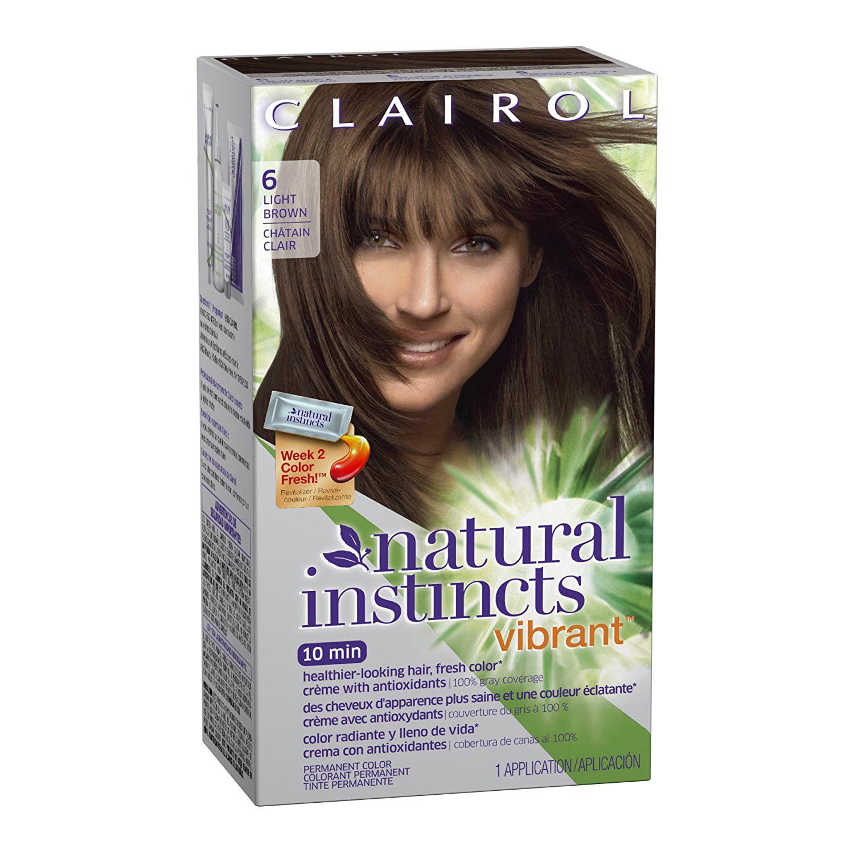 Natural Instincts Vibrant Permanent Hair Color 6 Fresh Maple Light