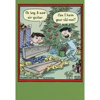 Airy Christmas Funny Humorous Christmas Card