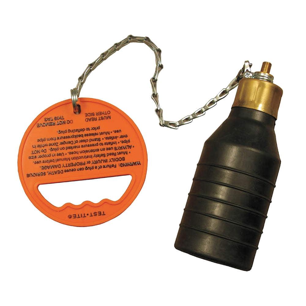 TEST-TITE Pressure Relief Test Plug, 4 In 83759