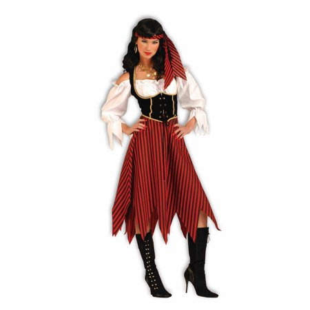 Halloween Pirate Maiden Adult Costume (Iron Maiden Halloween)