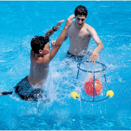 20 5 Water Sports Slam Dunk Swimming Pool Floating Basketball Game
