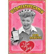 I Love Lucy - Vitameata Tin Sign Tin Sign - 8x11.5