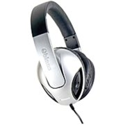 SYBA Multimedia Oblanc Cobra Silver Subwoofer Headphone W/In-line (Refurbished)