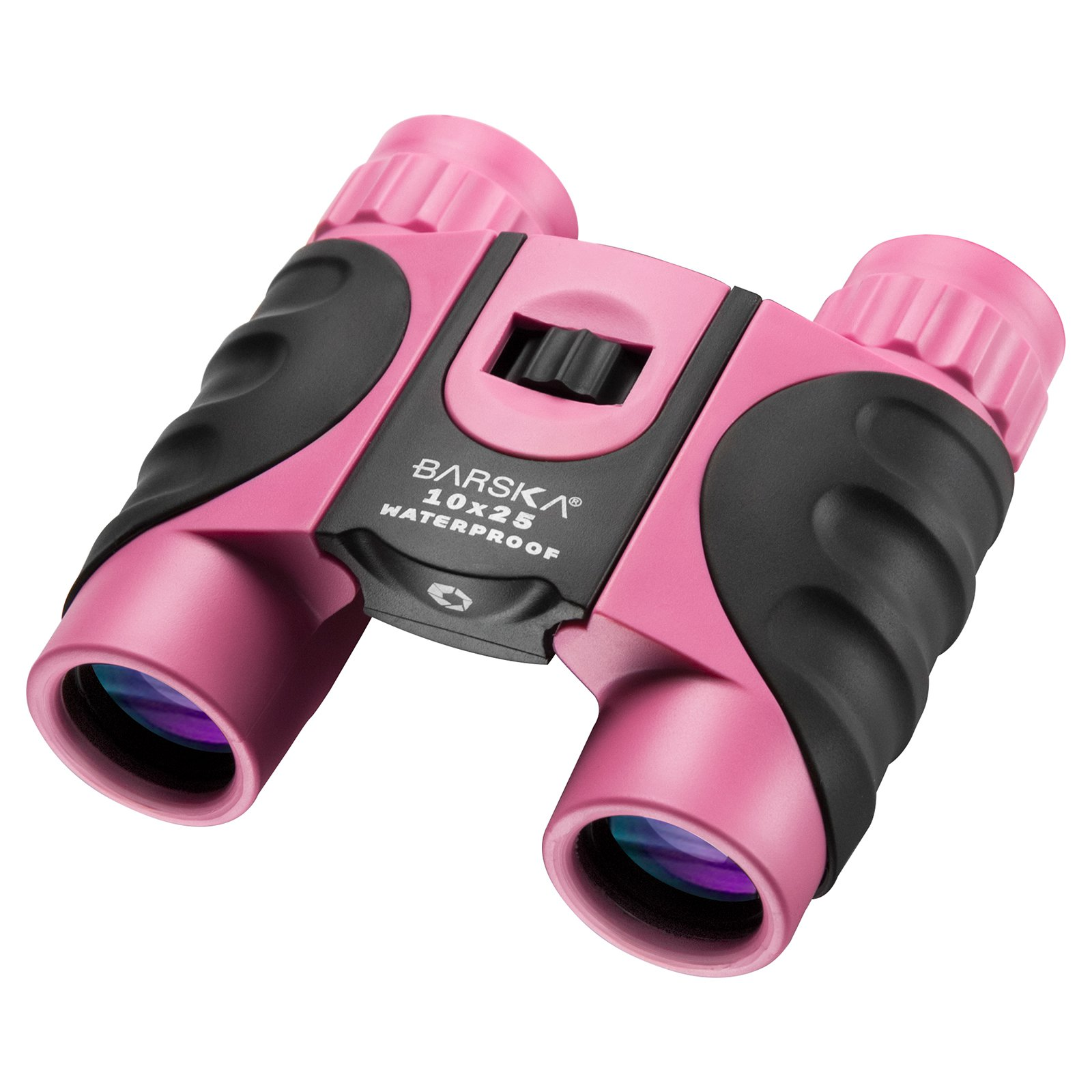 Barska Optics Colorado 10x25mm Binoculars, Pink