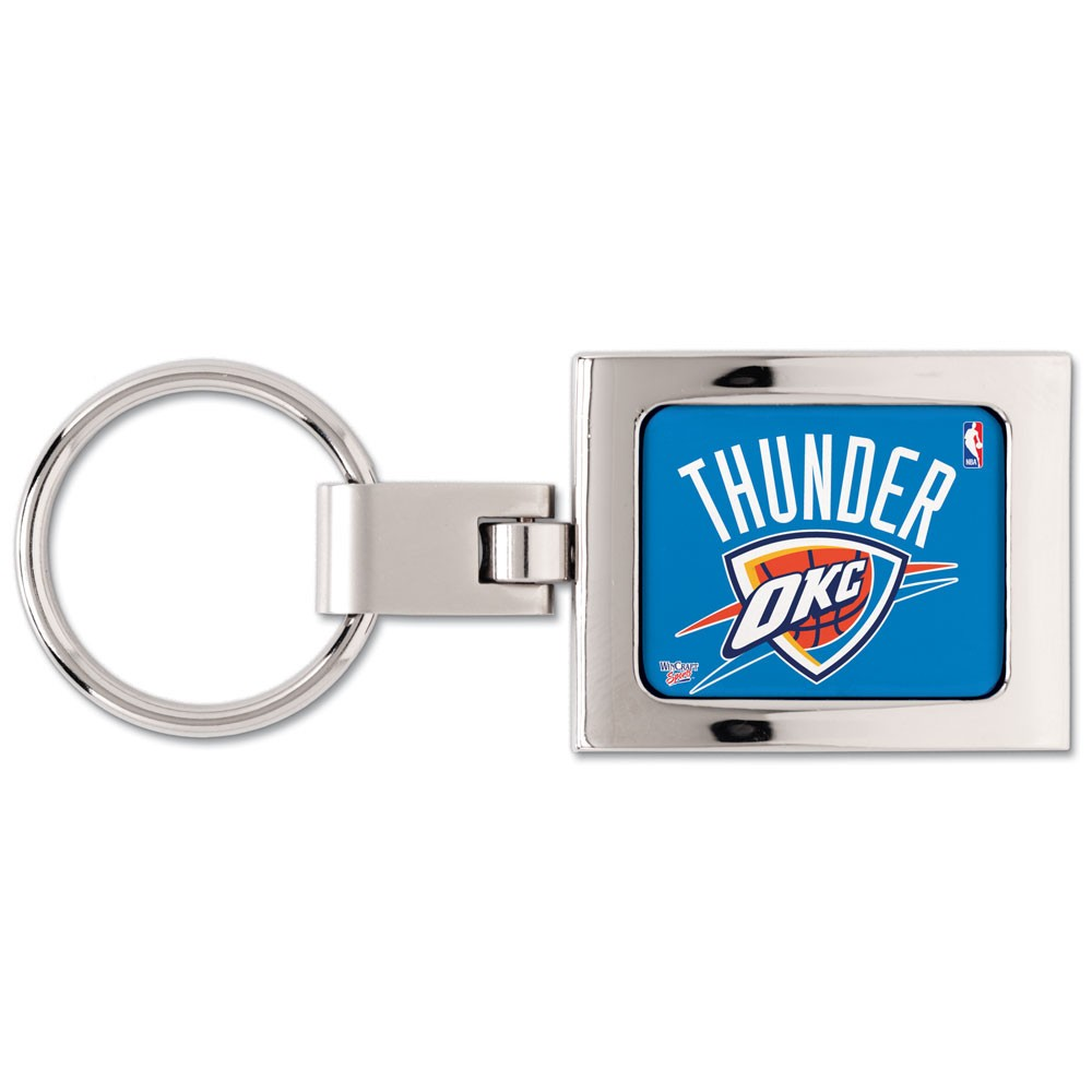 Oklahoma City Thunder Official NBA 3 inch  Key Chain Keychain by WinCraft