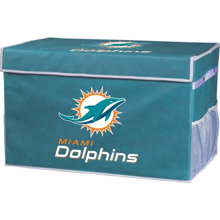Adult Store Miami (Franklin Sports NFL Miami Dolphins Collapsible Storage Footlocker Bins -)