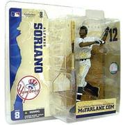 McFarlane MLB Sports Picks Series 8 Alfonso Soriano Action Figure [Pinstripe Jersey Variant]