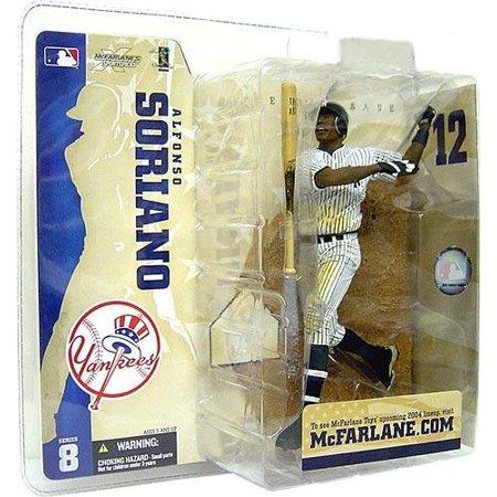 Pinstripe Mlb Jersey - McFarlane MLB Sports Picks Series 8 Alfonso Soriano Action Figure [Pinstripe Jersey Variant]