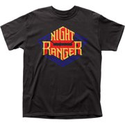 Night Ranger American Rock Band Logo Adult T-Shirt Tee