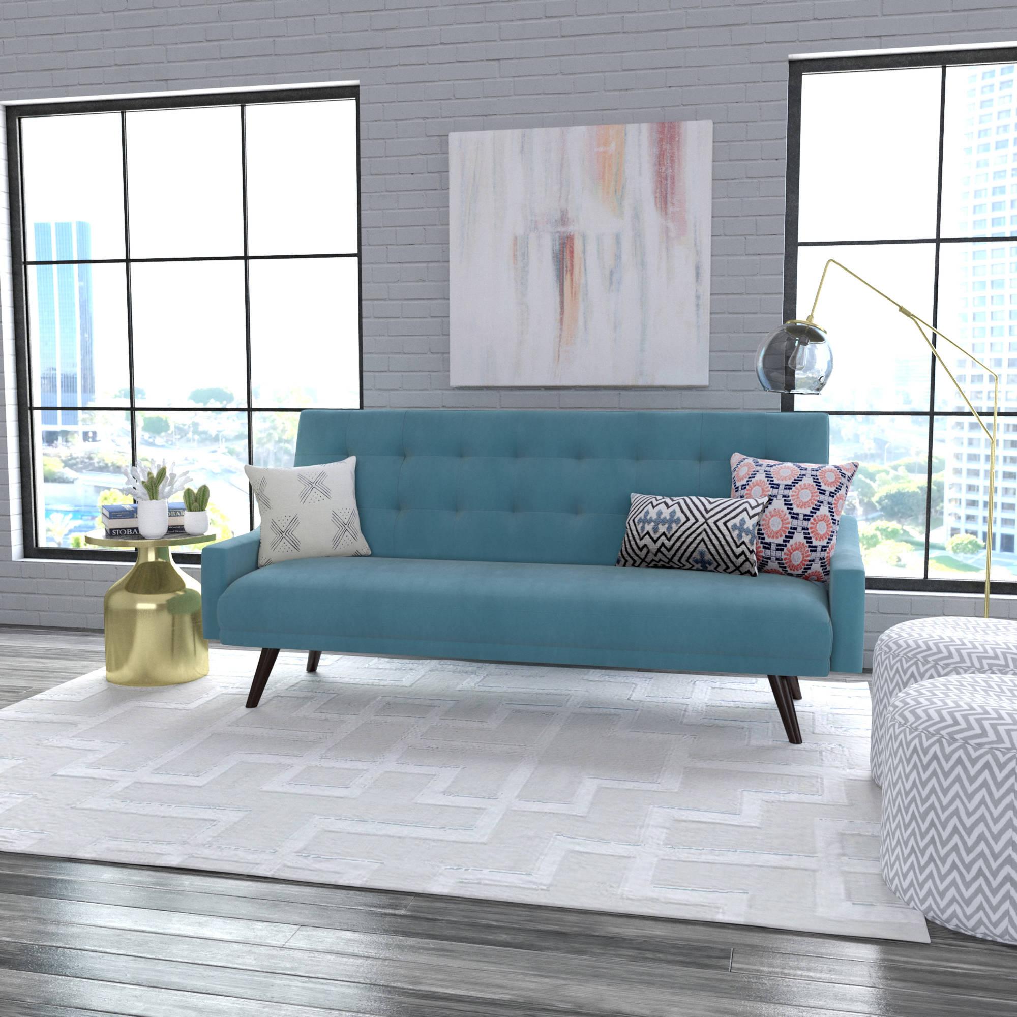 oakland futon sofa bed, multiple colors - walmart