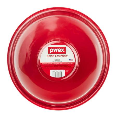Pyrex Smart Essentials Glass Mixing Bowl 4 qt, 1.0 CT