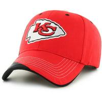Fan Favorites F-MHUBR16HTV-BK NFL Kansas City Chiefs Mass Hubris Cap - Black - One Size