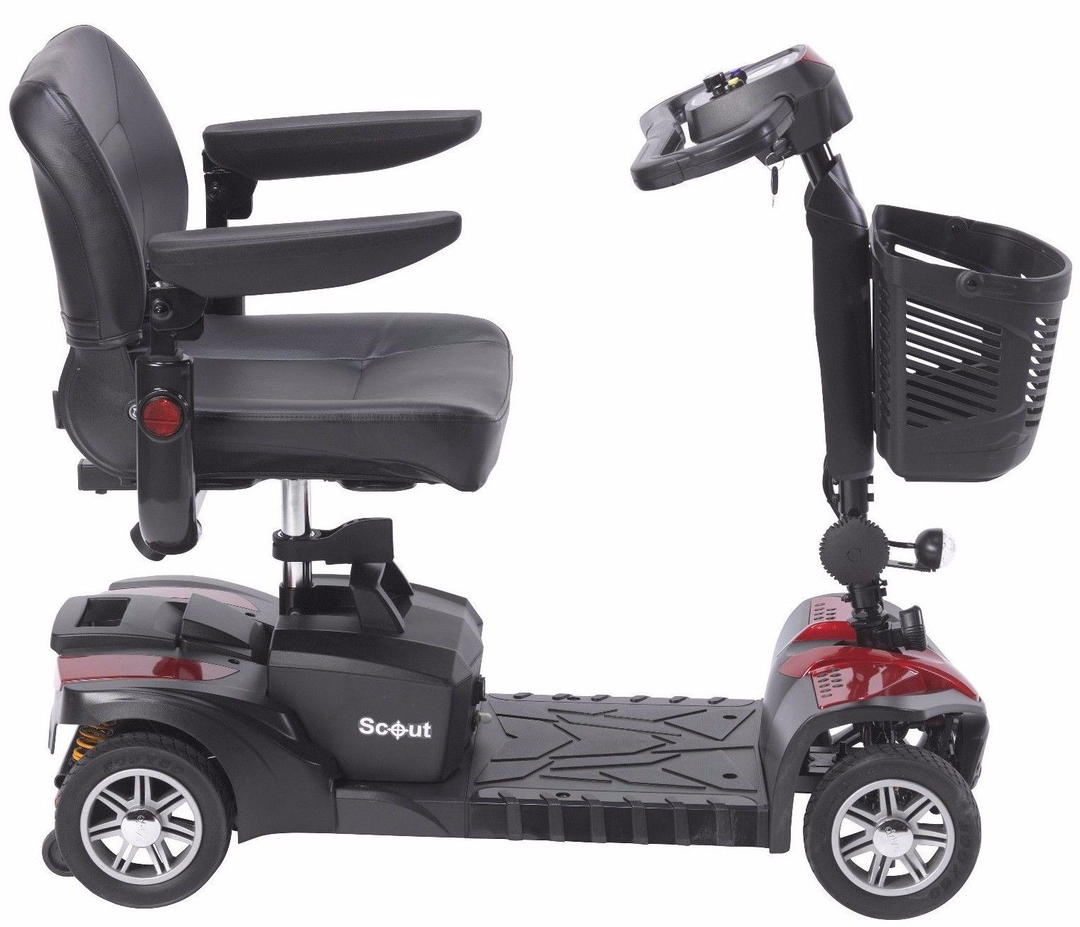 Drive medical scout dst 4 wheel travel scooter walmart fandeluxe Image collections