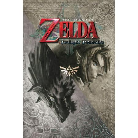 The Legend of Zelda Twilight Princess Nintendo High Fantasy Video Game Series Crest Poster - 24x36 (Team Crest Poster)